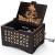 Cuzit DBZ Spieluhr, Holz, personalisierbare Spieluhr, Lasergravur, Vintage, Sonnenschein, Spieluhr, Geschenke für Geburtstag/Weihnachten - 2