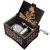 Cuzit DBZ Spieluhr, Holz, personalisierbare Spieluhr, Lasergravur, Vintage, Sonnenschein, Spieluhr, Geschenke für Geburtstag/Weihnachten - 3