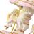 Docooler Mini Karussell Uhrwerk Spieluhr Bunte LED Merry-go-Round Spieluhr Geschenk für Freundin Kinder Kinder Weihnachten Festival - 3