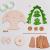 Drechslerei Kuhnert - Hobaku Bastelset Pyramide/Teelichthalter - Weihnachtspyramide mit Krippefiguren - aus Holz zum Zusammenbauen - Made in Germany - 2