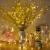 Erchen Strom-betrieben LED Lichterkette, 165 FT 500 LED 50M Stecker dimmbare Kupfer Draht Lichterketten mit 12V DC Adapter Fernbedienung für Innen Außen Weihnachten Party (warmweiß) - 2