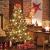 FairyTrees künstlicher Weihnachtsbaum FICHTE Natur, grüner Stamm, Material PVC, inkl. Holzständer, 150cm, FT01-150 - 3