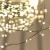 FairyTrees Micro LED Lichterkette für Weihnachtsbaum, FairyGlow 600 LEDs, Farbtemperatur 2700K (warmweiß), grüner Kupferdraht 30m (IP44), FG600 - 4