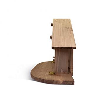 Fritz Cox® Holz-Krippen-Stall, Handarbeit aus Deutschland für EIN schönes Weihnachtsfest (Heide-Stall) - 3