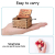 Geschenk für Frau vom Ehemann, Geburtstagsgeschenk für Frau Weiblich Holz Graviert Vintage Handkurbel Spieluhren für Liebe Frau Freundin Valentinstag Weihnachten Hochzeitstag Geschenk - 3
