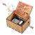 Geschenk für Frau vom Ehemann, Geburtstagsgeschenk für Frau Weiblich Holz Graviert Vintage Handkurbel Spieluhren für Liebe Frau Freundin Valentinstag Weihnachten Hochzeitstag Geschenk - 1