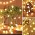 Globe Lichterkette für Innen und Außen, LED Kugel Lichterkette 8 Leuchtmodi, ideale Partylichterkette IP65 Wasserdicht mit IR Fernbedienung für Weihnachtsdeko, Hochzeit, Party , Garten - 2