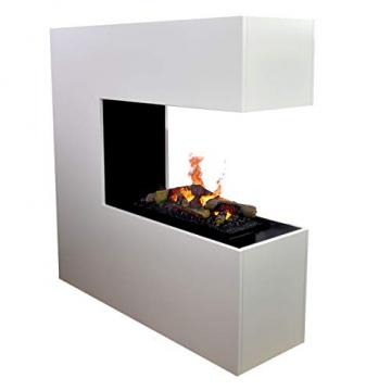 GLOW FIRE Schiller (Opti-myst Cassette 600 mit Holzdeck) - 1