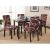 Hivexagon Beschützer Stuhlhussen 4er Set, Universal Stretch Stuhlkissen Sessel überzug stuhlbezüge Protector Cover für Weihnachten Haus Esszimmer Moderne Hochzeit Bouquet, Hotel, Restaurant Dekor - 3