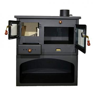 Holzofen für Festbrennstoff. Heizleistung: 10 kW. Ofen - 2