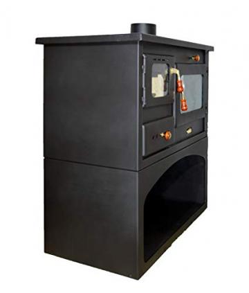 Holzofen für Festbrennstoff. Heizleistung: 10 kW. Ofen - 3