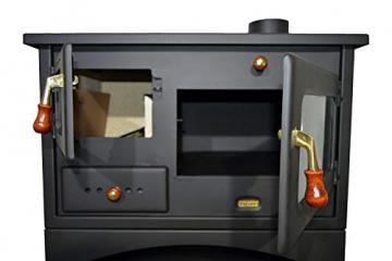 Holzofen für Festbrennstoff. Heizleistung: 10 kW. Ofen - 4