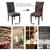 JOTOM Stuhlhussen Universal Stretch Stuhlbezug Elastische Moderne Stuhl Hussen Set Abnehmbare Weihnachten Dekoration Stuhlabdeckung für Esszimmer Party Hotel Restaurant Deko (Kreis, 4er Set) - 4