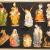 Krippenfiguren 12 er SET HANDBEMALT in edler Echtholz - Optik für Holz Weihnachtskrippe Zubehör, MIT HOLZ-BOX KFK-Box - saubere Gesichtszüge, feine Mimik, handbemalte Krippenfiguren, Zubehör - 2