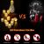 LED Teelichter, PChero 12 Stück LED Strom Kerzen Flammenlose Flackernde Kerzenlichter mit Timerfunktion Beleuchtung für Weihnachten Neujahr Feste Hause Zimmer Tisch Garten Deko [1,7 Zoll Hohe Version] - 2