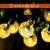 Lezonic Solar Lichterkette aussen, 50LED 23 ft 8 Modi Solar Kristallkugeln wasserdicht Außen/Innen Lichter Beleuchtung für Garten, Balkon, Bäume, Hochzeiten, Partys, Weihnachten (warmweiß) - 3
