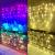 Lichterketten Vorhang Lichterkette Vorhang Innen Led Lichtervorhang Bunt Warmweiß Regenbogen Deko Lichterkette Kinderzimmer Mädchen Hochzeit Party Weihnachtsdeko Fenster Dekoration (icicle) - 2