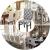 LiveGo Stuhl-Schutzbezug,1/4/6 er Set Stuhlhussen Stretch Stuhlbezug Elastisch Stuhlüberzug,für Haus Esszimmer Hochzeit Bouquet, Hotel, Restaurant Dekor (Gray+White, 4 Pcs) - 3
