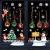 MEISHANG Fensterfolie Weihnachten,Fensteraufkleber Weihnachten,Weihnachten Fensterdeko Selbstklebend,Fensteraufkleber PVC,Fensterbilder Weihnachten,Weihnachten Deko Fenster - 2