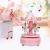 Merry-Go-Round-Spieluhr Karussell Pferd Spieluhr Babyzimmer Nacht Wohnkultur Weihnachten Hochzeit Geburtstagsgeschenk Dekor(Pink) - 4