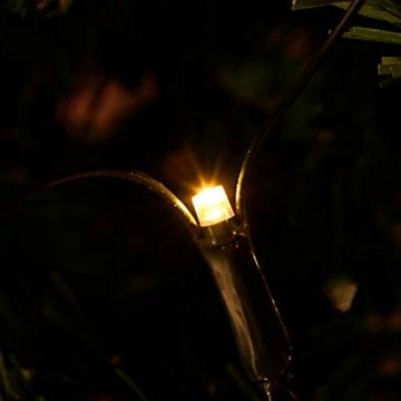 NAIZY 6 x 4 m LED Lichternetz, Lichtervorhang Lichterkette Deko Leuchte für Innen und Außen Party Weihnachten Hochzeit - 672 LEDs Warmweiß - 6