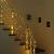 NEXVIN Lichterkette Warmweiß, 20+3M 200 LED Lichterkette Anschließbar, Strombetrieben, 8 Leuchtmodi Dimmbar, IP44 Wasserdicht Lichterkette mit Fernbedienung für Innen Außen Party Feier Deko - 3