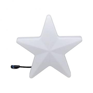 Paulmann 941.84 Outdoor Plug & Shine Lichtobjekt Star IP67 3000K 235lm 24V Dekoleuchte Gartenleuchte Terassenleuchte 94184 - 3