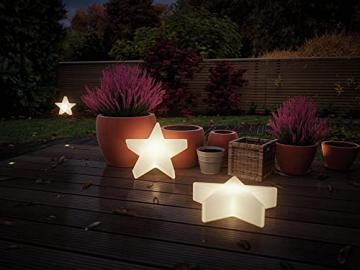 Paulmann 941.84 Outdoor Plug & Shine Lichtobjekt Star IP67 3000K 235lm 24V Dekoleuchte Gartenleuchte Terassenleuchte 94184 - 5