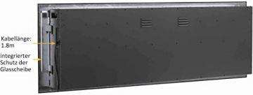 RICHEN Elektrokamin Fiamma - Elektrischer Einbaukamin (153 cm / 60