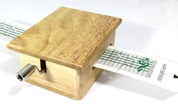 Schaepers Kaleidoskope Spieluhr / mit Lochstreifen / zum Selbstkomponieren / aus Holz - 2