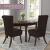 SCHEFFLER-Home Stretch Stuhlhusse Lena, 2er Set elastische Stuhlabdeckungen, Stuhlhussen Schwingstühle, Spannbezug mit Gummiband, Elegante Stuhlbezüge - 3