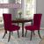 SCHEFFLER-Home Stretch Stuhlhusse Luna   2er Set elastische Flanell Stuhlabdeckungen   Stuhlhussen Schwingstühle   Spannbezug mit Gummiband   Elegante Stuhlbezüge aus Samt - 3