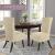 SCHEFFLER-Home Stretch Stuhlhusse Luna-Lang | 2er Set elastische Flanell Stuhlabdeckungen | Stuhlhussen Schwingstühle | Spannbezug mit Gummiband | Elegante Stuhlbezüge - 3