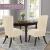 SCHEFFLER-Home Stretch Stuhlhusse Sofia | 2er Set elastische Stuhlabdeckungen | Stuhlhussen Schwingstühle | Flanell Spannbezug mit Gummiband | Elegante Stuhlbezüge - 3