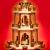 SIKORA P20 Klassische Holz Weihnachtspyramide 3 Etagen - 2