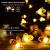 Solar Lichterkette Aussen,66LED Bienen lichterkette Wasserdichte 8 Modi , dekorativ für Garten, Rasen, Terrasse, Sommerfest, Weihnachten,Feiertag (Warmweiß) - 4