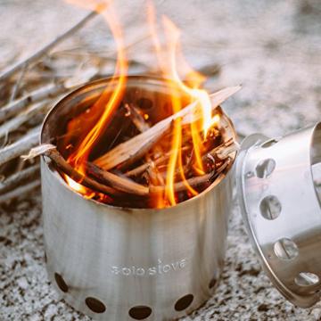 Solo Stove Camping Holzofen für Backpacker - Ultraleichtes, kompaktes Design, perfekt für Überlebenstraining, Camping, Jagd & Vorbereitung auf Notfälle - 7