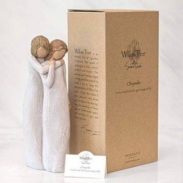 Willow Tree 26153 Figur Chrysalis - Mutter und Tochter, 5,1 x 3,8 x 22,9 cm - 5