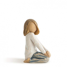 Willow Tree 26223 Figur Froehliches Kind, 5,1 x 3,8 x 7,6 cm - 1
