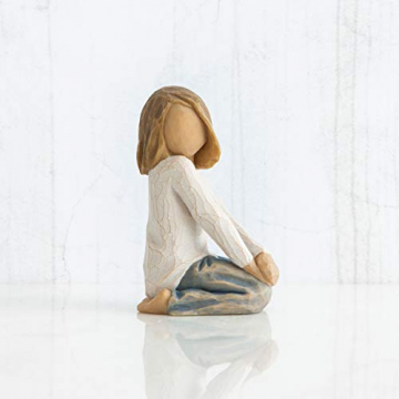 Willow Tree 26223 Figur Froehliches Kind, 5,1 x 3,8 x 7,6 cm - 2