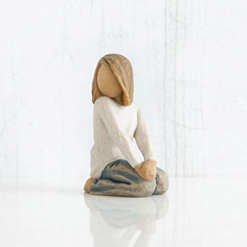 Willow Tree 26223 Figur Froehliches Kind, 5,1 x 3,8 x 7,6 cm - 4