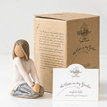 Willow Tree 26223 Figur Froehliches Kind, 5,1 x 3,8 x 7,6 cm - 6