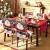 YISUN Universal Stretch Stuhlhussen 4er 6er Set Stuhlbezug für Stuhl Esszimmer (6er Set, Weihnachten) - 2