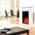 GLOW FIRE Elektrokamin mit Heizung, Wandkamin und Standkamin mit LED | Künstliches Feuer mit zuschaltbarem Heizlüfter: 1000/2000 W | Fernbedienung, Dimmer, Weiß | modern - 2