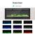 KUPPET 127 cm Elektrischer Kamin Versenkt und an der Wand Montiert mit Sicherheitsabschaltung & Timer, Touchscreen-Bedienbildschirm & Fernbedienung, Digitaler LED-Anzeige, Schwarzem Glas - 4