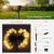 DeepDream 11 Meter 60 LED Kugel Solar Lichterkette Aussen,USB Globe Lichterkette 8 Modus Wasserdicht Innen und Außen für Garten, Hochzeit, Balkon, Haus, Weihnachten Deko, Warmweiß - 3
