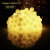 HAUSPROFI 100er LEDS Kugel Lichterkette 10M Dimmbar, Globe Lichterkette mit EU Stecker für Innen und Außen, 8 Leuchtmodi, ideale Partylichterkette für Weihnachtsdeko, Hochzeit, Party usw, Wasserdicht - 2