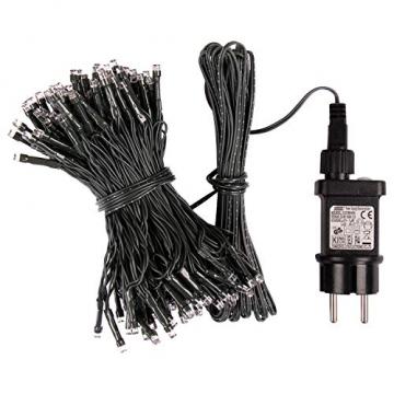 Idena 31123 - LED Lichterkette mit 400 LED in warmweiß, mit 8 Stunden Timer Funktion und Transformator, ca. 47,9 m lang, Innen- und Außenbereich, als Deko für Partys, Weihnachten, Hochzeit - 3