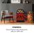 Klarstein Mayrhofen - Elektrokamin, Elektrischer Kamin, 900/1800 W, 2 Heizstufen, OpenWindow Detection, LED-Flammenillusion, zuschaltbare Heizung, 5 Helligkeitsstufen, schwarz - 2