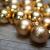 KREBS & SOHN Set Weihnachtskugeln aus Glas 5,7 cm - Christbaumschmuck Christbaumkugeln Weihnachtsdeko - 20-teilig, Gold, Sterne - 3